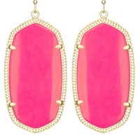 Danielle Earrings in Neon Pink - Kendra Scott Jewelry