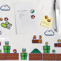 Nintendo Super Mario Bros Fridge Magnets