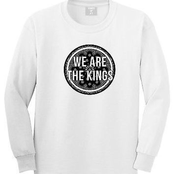 Kings of NY We Are The Kings Long Sleeve T-Shirt Bandana Print  Street NYC