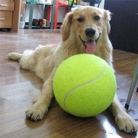 GIANT Tennis Ball Dog Toy 24CM!!!!