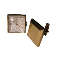 Sheffield Watch Link Cuff Links Working Condition in Original Presentation Box - Mens Fashion - Mens Gift - Fathers Day Gift