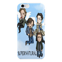 Supernatural Funny Art For iPhone 6 / 6 Plus Case