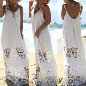 Aspen Peek A Boo Lace Sundress