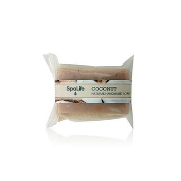 Coconut Soap with Loofah Body Scrubber