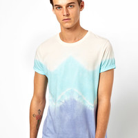 ASOS | ASOS T-Shirt With Dip Dye at ASOS