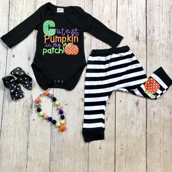 RTS Cutest Pumpkin in the Patch 2pc Set D1