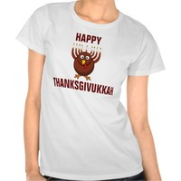 Happy Thanksgivukkah Turkey Menorah