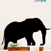 Vinyl Wall Decal Sticker Safari Elephant #289
