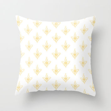 Just Like Honey Throw Pillow by LOVEDART