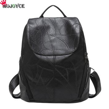 Hot Sale Really Sheepskin Leather Backpack Fashion Designer Pinee Women's Bag Laptop School Bags for Daughter Wife Mother