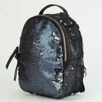 VIOLET RAY Sequin Womens Mini Backpack