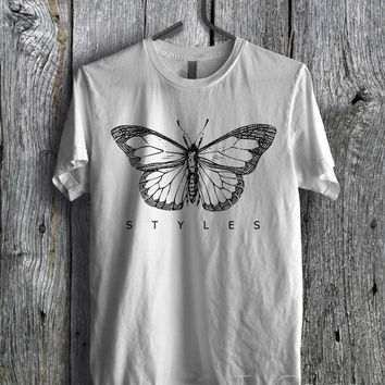 Harry Styles Tattoo Tee  - D1zL Unisex Tees For Man And Woman / T-Shirts / Custom T-Shirts / Tee / T-Shirt
