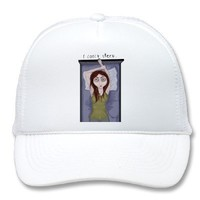 I can't sleep. mesh hats from Zazzle.com