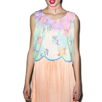 Hamlet Far Away Dress Peach Small