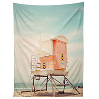 Bree Madden Beach Tower 5 Tapestry