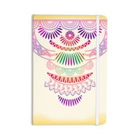 "Famenxt ""Decorative Ornament"" Yellow Multicolor Everything Notebook"