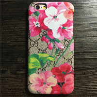 Floral Printed Case for iPhone
