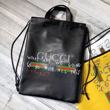 Gucci men and women exquisite trend fashion elegant backpack F