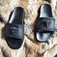 '' Versace '' Women Men slippers (5 colors)