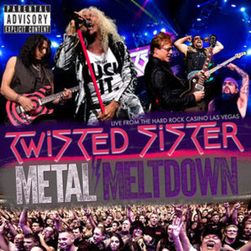 Metal Meltdown -TWISTED SISTER, Blu-Ray/CD