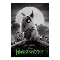 Frankenweenie Movie Poster from Zazzle.com