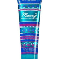 Bath Body Works Merry Marshmallow Kiss 8.0 oz Triple Moisture Body Cream