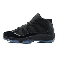 Air JORDAN 11 Retro High-Top Lace-up Leather Athletic Lover Basketball Shoes for Men W