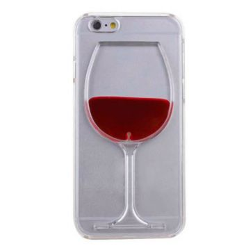Moving Liquid Wine Glass iPhone 6 case