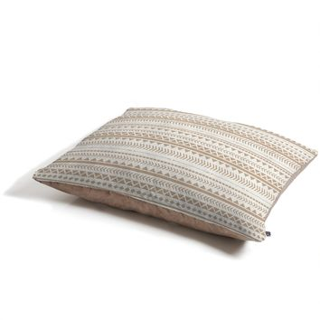 Allyson Johnson Tan Aztec Pet Bed