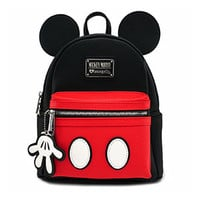 Disney Mickey Suit Faux Leather Mini Backpack