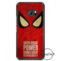 Spider Man Logo HTC One M10 Case