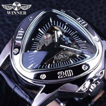 Automatic Mechanical Skeleton Dial Men's Watch