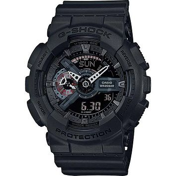 Casio Classic Mens Analog Digital G-Shock - Black  - Magnetic Resistant