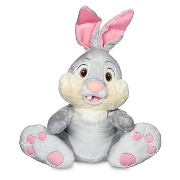 "Licensed cool Bambi Thumper Bunny Rabbit JUMBO 18"" Plush Doll Stuffed Animal Disney Store NWT"
