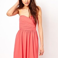 Club L Chifffon Prom Dress at asos.com