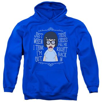 Bobs Burgers - Pull Me In Adult Pull Over Hoodie