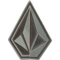 Volcom Oblique Belt Buckle Pewter One Size For Men 17818811401