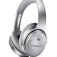 Silver Noise Canceling Wireless Headphones by Bose