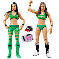 "WWE Wrestling Series 38 Nikki & Brie Bella Twins 6"" Action Figure 2-Pack"