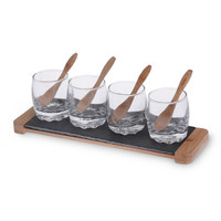 Boston International Small Bites 9 Piece Tapas Serving Set