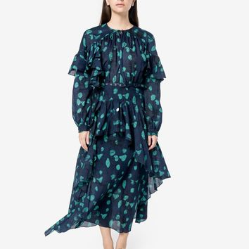 Guile Dress in Navy