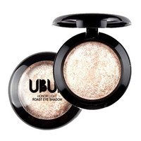 UBUB Brand Single Baked Eye Shadow Powder Palette Shimmer Metallic Eyeshadow Palette Long-lasting,Easy to Wear,Natural,Brighten