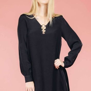 Lix Black Dress