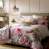 Pure Peony Duvet Cover - Double from Ted Baker