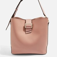 Seema Buckle Hobo Bag - Bags & Wallets - Bags & Accessories