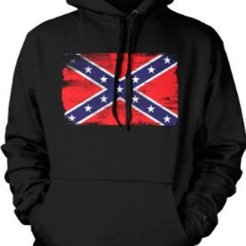 Confederate Flag Mens Sweatshirt, Southern States, Confederate States Rebel Flag Pullover Hoodie