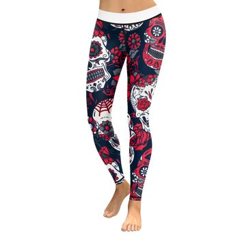 Skull Leggings & Yoga Pants High Quality Style 8