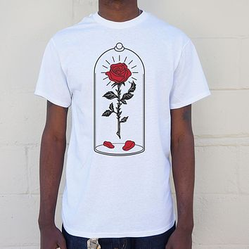 Enchanted Rose [Beauty and the Beast Inspired] Men's T-Shirt