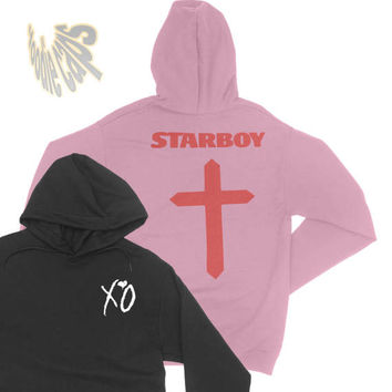 Starboy Hoodie, The Weeknd Starboy Hoodie ,xo, The weeknd merch