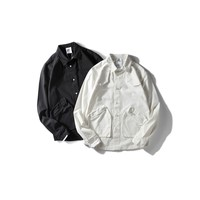 Long Sleeve Casual With Pocket Shirt [10800262147]